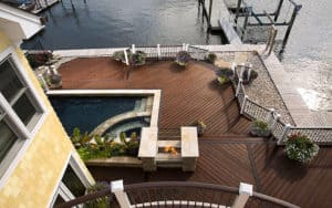 Supreme Deck, Azek decking composite
